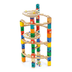 hape quadrilla twist piece marble