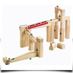 Marble Ball Track Building Set