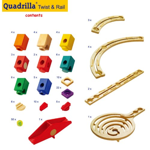 Compare Quadrilla Twist And Rail Set Vs Quercetti Super