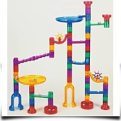Transparent Marble Run
