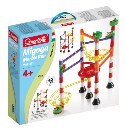 Quercetti Marble Run Vortis 80 Pieces
